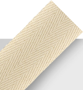 Tan heavy cotton twill tape