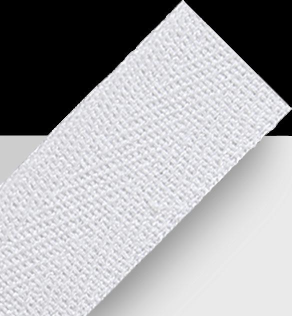 White spunpoly fabric