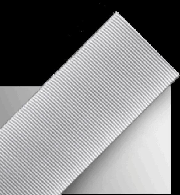 Silver nylon webbing